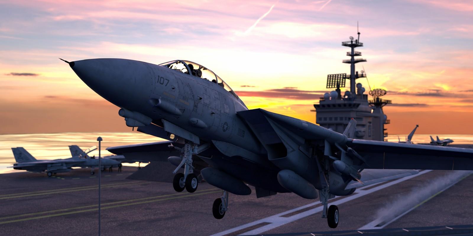 F-14D Super Tomcat Launch