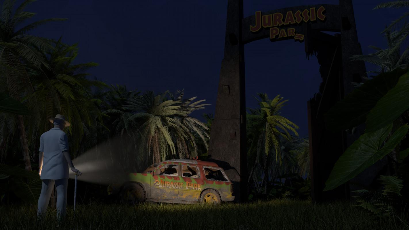 Jurassic Park Failure